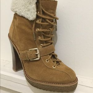 HOST PICK 🎉Michael Kors Suede Leather WARM Boots